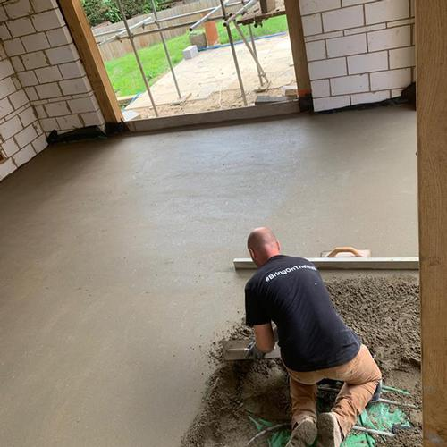 Plastering And Rendering  in Oxfordshire Floor Screeding